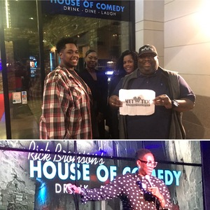Click To Read More Feedback from Comedian Gina Yashere - Late Show -18+