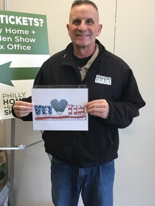 Mr Murphy attended Philly Home + Garden Show on Feb 15th 2019 via VetTix