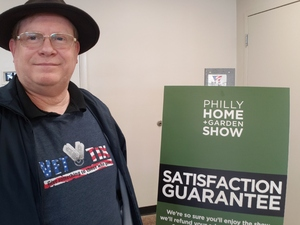 Brian attended Philly Home + Garden Show on Feb 15th 2019 via VetTix