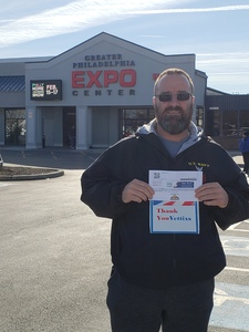 Anthony attended Philly Home + Garden Show on Feb 15th 2019 via VetTix