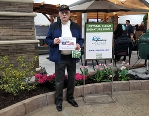 Ken attended Philly Home + Garden Show on Feb 15th 2019 via VetTix
