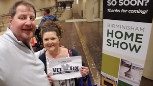 Turk attended Birmingham Home Show - *any One Day *see Notes on Feb 15th 2019 via VetTix