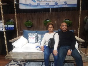 Antoine attended Birmingham Home Show - *any One Day *see Notes on Feb 15th 2019 via VetTix