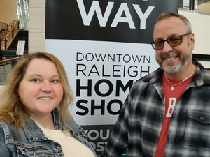 Julie attended Downtown Raleigh Home Show on Feb 15th 2019 via VetTix
