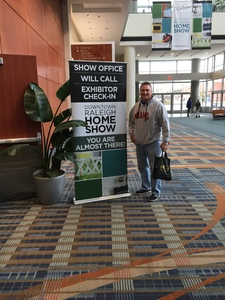 Shannon attended Downtown Raleigh Home Show on Feb 15th 2019 via VetTix