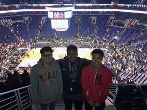 Dennis attended Phoenix Suns vs. Houston Rockets - NBA on Feb 4th 2019 via VetTix