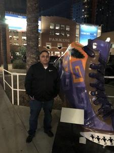 Ramon attended Phoenix Suns vs. Houston Rockets - NBA on Feb 4th 2019 via VetTix