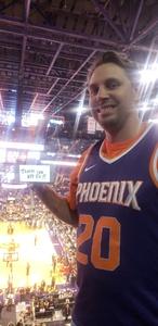 Michael attended Phoenix Suns vs. Houston Rockets - NBA on Feb 4th 2019 via VetTix