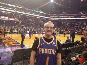 Jason attended Phoenix Suns vs. Houston Rockets - NBA on Feb 4th 2019 via VetTix