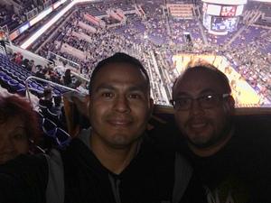 Jesus attended Phoenix Suns vs. Houston Rockets - NBA on Feb 4th 2019 via VetTix