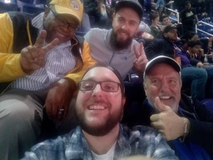 Jamie attended Phoenix Suns vs. Houston Rockets - NBA on Feb 4th 2019 via VetTix