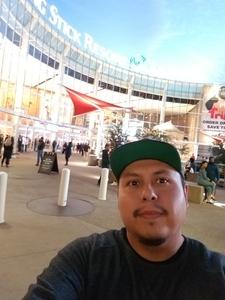Byron attended Phoenix Suns vs. Houston Rockets - NBA on Feb 4th 2019 via VetTix