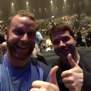 Chris attended Hymn Sarah Brightman in Concert - Adult Contemporary on Feb 5th 2019 via VetTix