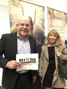 Michael attended Hymn Sarah Brightman in Concert - Adult Contemporary on Feb 5th 2019 via VetTix