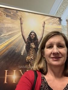Susan attended Hymn Sarah Brightman in Concert - Adult Contemporary on Feb 5th 2019 via VetTix