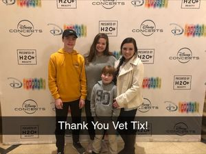 Edwards Family attended Disney's Dcappella - Other on Feb 8th 2019 via VetTix