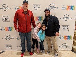 Bryan attended Disney's Dcappella - Other on Feb 8th 2019 via VetTix
