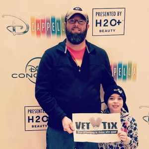 casey attended Disney's Dcappella - Other on Feb 8th 2019 via VetTix