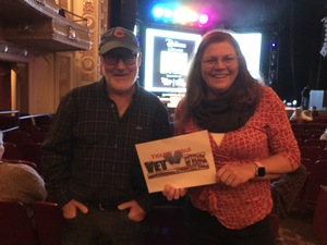 Gayle attended Disney's Dcappella - Other on Feb 8th 2019 via VetTix