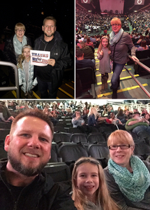 Mike attended Kelly Clarkson on Feb 7th 2019 via VetTix