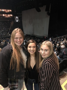 Jason attended Kelly Clarkson on Feb 7th 2019 via VetTix