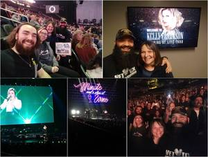 Brian attended Kelly Clarkson on Feb 7th 2019 via VetTix