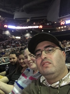 Randy attended Kelly Clarkson on Feb 7th 2019 via VetTix