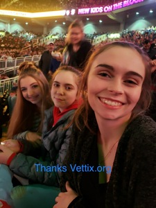 Kristian attended Kelly Clarkson on Feb 7th 2019 via VetTix