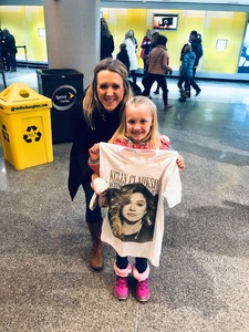 Ryan attended Kelly Clarkson on Feb 7th 2019 via VetTix