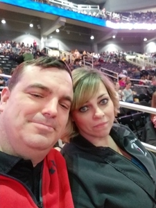 Dustin attended Kelly Clarkson on Feb 7th 2019 via VetTix