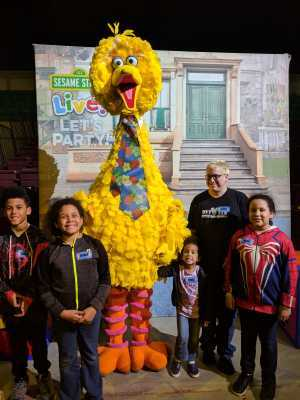 Dane attended Sesame Street Live! Let's Party! - Children's Theatre on Mar 6th 2019 via VetTix