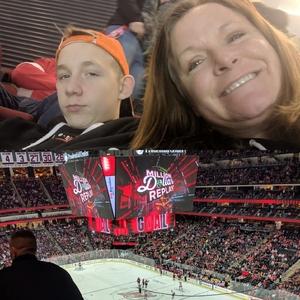 Carla attended New Jersey Devils vs. Carolina Hurricanes - NHL on Feb 10th 2019 via VetTix