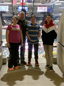 Douglas attended Indiana Pacers vs. LA Clippers - NBA on Feb 7th 2019 via VetTix