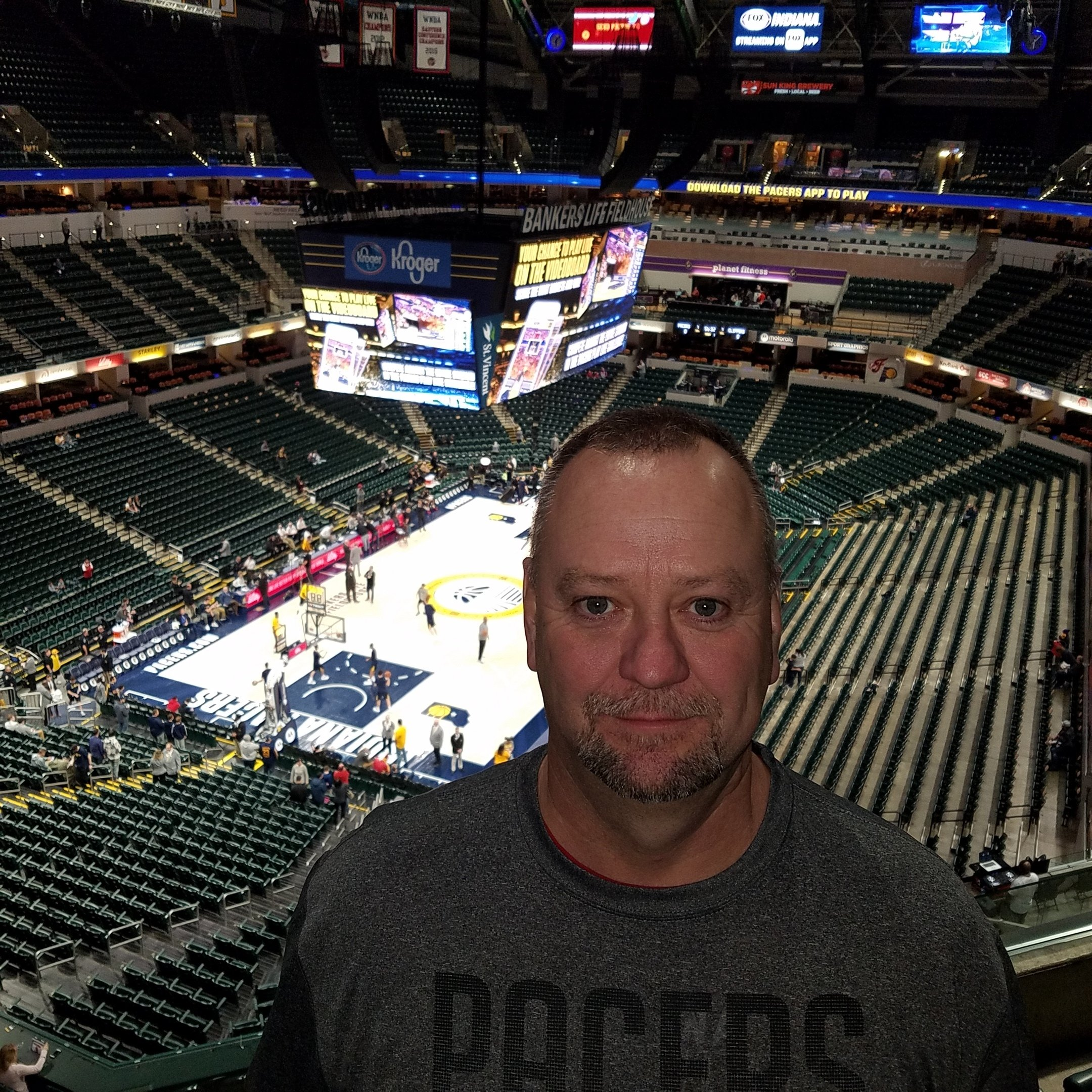 1b70b0d93 DONALD attended Indiana Pacers vs. LA Clippers - NBA on Feb 7th 2019 via  VetTix