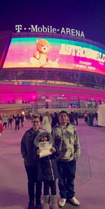 Carlos attended Travis Scott: Astroworld on Feb 6th 2019 via VetTix