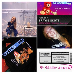 Cassidy attended Travis Scott: Astroworld on Feb 6th 2019 via VetTix