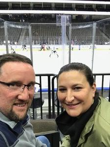 Kary attended Jacksonville Icemen vs. Manchester Monarchs - ECHL on Feb 13th 2019 via VetTix