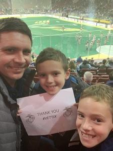 Kevin attended Philadelphia Wings vs. Colorado Mammoth - National Lacrosse League on Feb 9th 2019 via VetTix