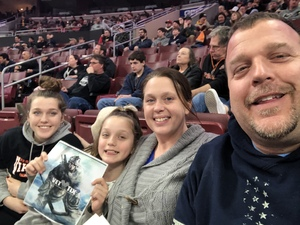 Timothy attended Philadelphia Wings vs. Colorado Mammoth - National Lacrosse League on Feb 9th 2019 via VetTix