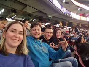 Ian attended Philadelphia Wings vs. Colorado Mammoth - National Lacrosse League on Feb 9th 2019 via VetTix
