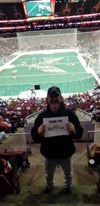 Christopher attended Philadelphia Wings vs. Colorado Mammoth - National Lacrosse League on Feb 9th 2019 via VetTix