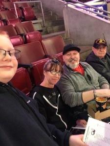 Robert attended Philadelphia Wings vs. Colorado Mammoth - National Lacrosse League on Feb 9th 2019 via VetTix