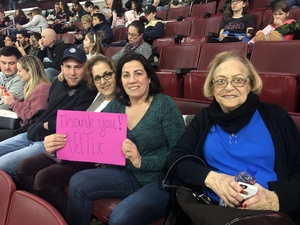 christine attended Philadelphia Wings vs. Colorado Mammoth - National Lacrosse League on Feb 9th 2019 via VetTix