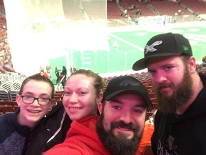 Chris attended Philadelphia Wings vs. Colorado Mammoth - National Lacrosse League on Feb 9th 2019 via VetTix