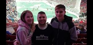 james attended Philadelphia Wings vs. Colorado Mammoth - National Lacrosse League on Feb 9th 2019 via VetTix