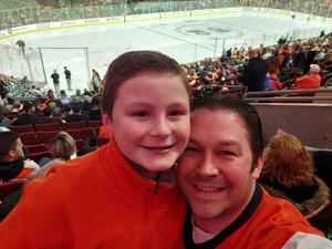 Chris attended Philadelphia Flyers vs. Los Angeles Kings - NHL on Feb 7th 2019 via VetTix