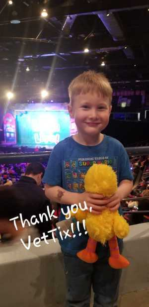 Cuneyt attended Sesame Street Live! Make Your Magic - Children's Theatre on Mar 21st 2019 via VetTix