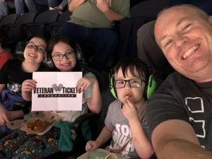 Guy attended Monster Jam on Feb 23rd 2019 via VetTix