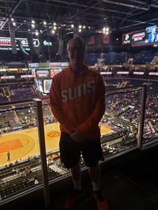 Jason attended Phoenix Suns vs. Golden State Warriors - NBA on Feb 8th 2019 via VetTix
