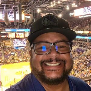 Ricardo attended Phoenix Suns vs. Golden State Warriors - NBA on Feb 8th 2019 via VetTix